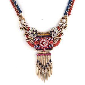 Bohemian Goddess Necklace, NWT